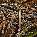 Spaghetti M6 Motorway Junction
