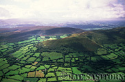 Aerial pictures of Brecon Beacons National Park, Wales, UK
